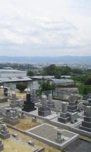 矢田えびす墓苑-基本−霊苑全体写真、墓地、お墓、墓石、石材、敷石、墓苑、