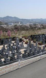 神戸大霊園−基本−霊園全体写真 石材 墓地 お墓 墓石